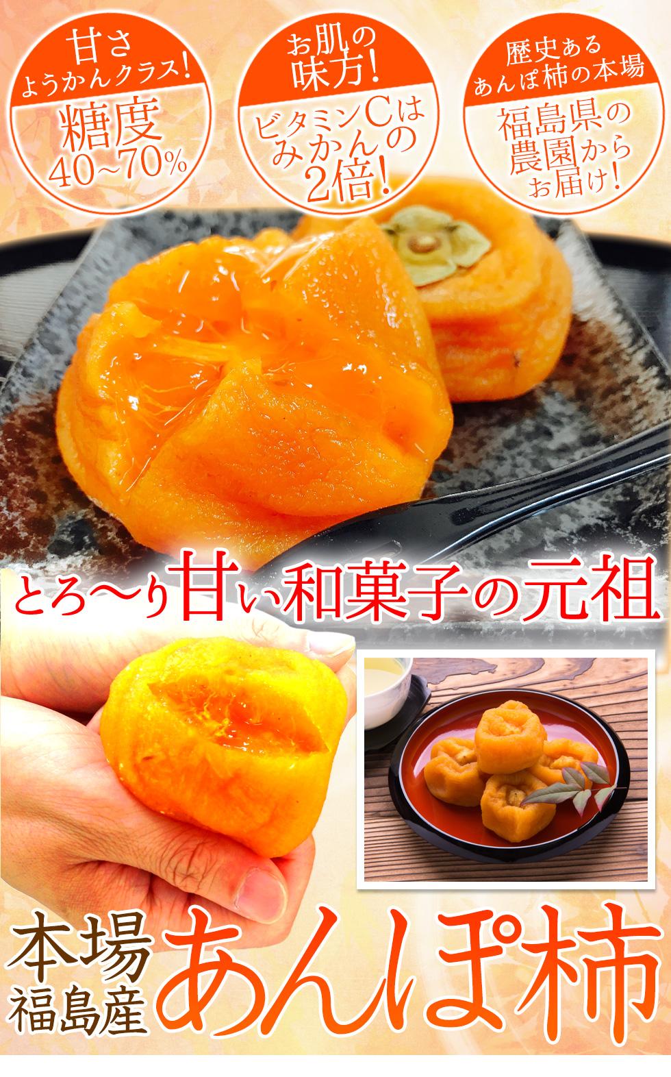 本場福島産あんぽ柿